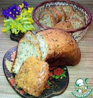 Рецепт Белый хлеб с нутом и черемшой