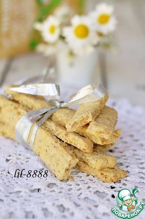Рецепт Злаковое печенье с сыром