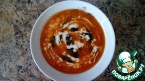 Рецепт Суп с томатным соком
