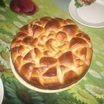 Красивый пирог Цветок