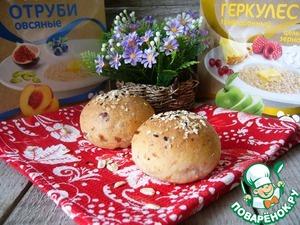 Рецепт Овсяно-сметанные булочки