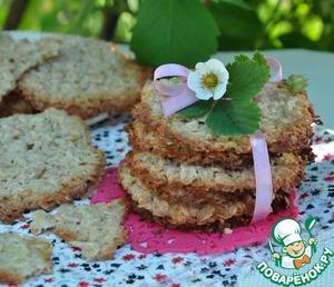 Рецепт Овсяное кружевное печенье