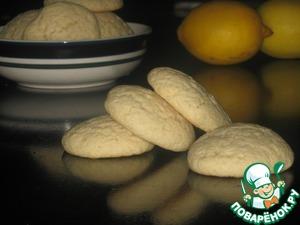 Рецепт Белые лимонные печенья