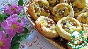 Рецепт Изысканные булочки с изюмом