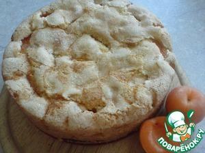 Рецепт Пирог с ревенем и абрикосами