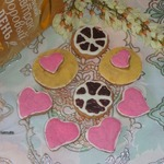 Имбирно-овсяное печенье