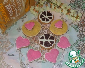 Рецепт Имбирно-овсяное печенье