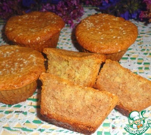Бисквитные кексики пошаговый рецепт