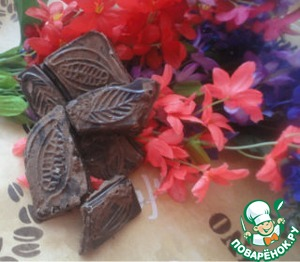 Рецепт Домашний шоколад с сухим молоком