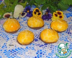 Рецепт Творожные булочки с повидлом