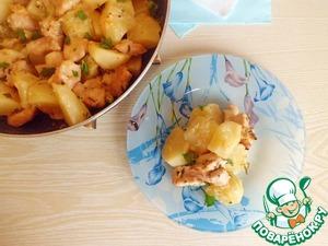 Рецепт Картофель в сыворотке по-новому