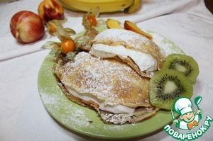 Рецепт Блинчики с лимонным суфле