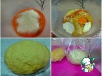 Цветные овсяные булочки ингредиенты