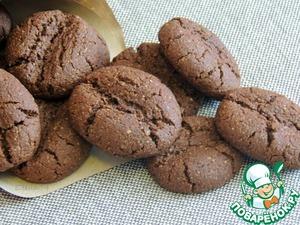 Рецепт Шоколадно-кофейное овсяное печенье