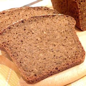 Рецепт Хлеб ржаной с отрубями и многозерновыми хлопьями