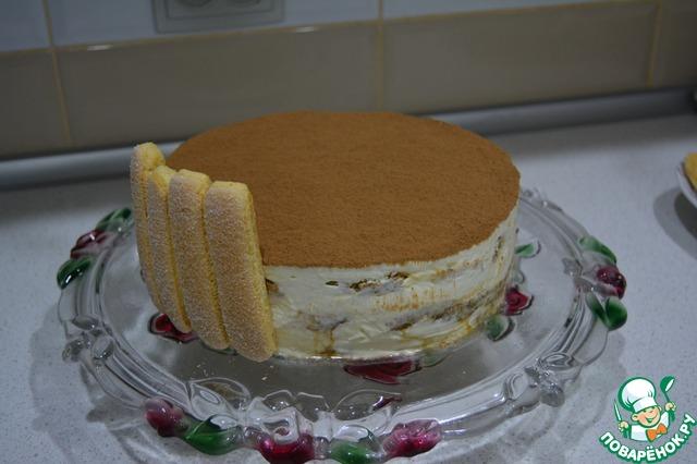 торт тирамису с печеньем савоярди рецепт с видео
