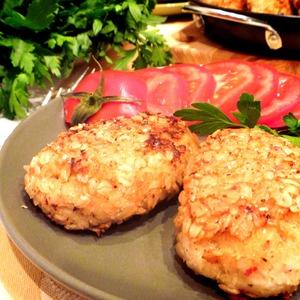 Как готовить Рыбные котлеты в овсяной панировке рецепт приготовления с фото пошагово