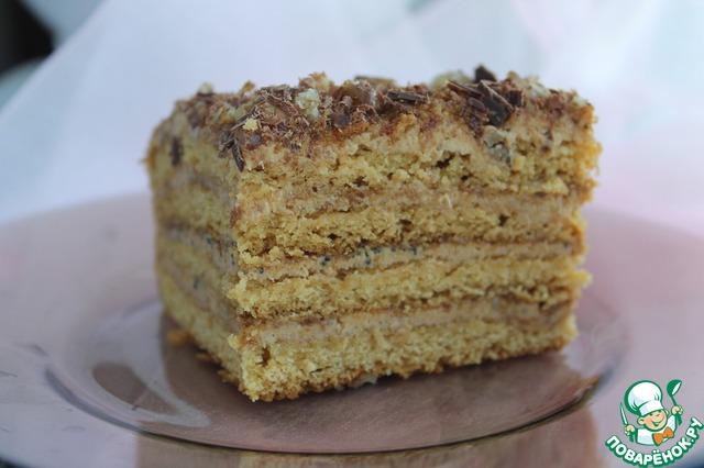 Торт ангарский пошаговый рецепт с фото