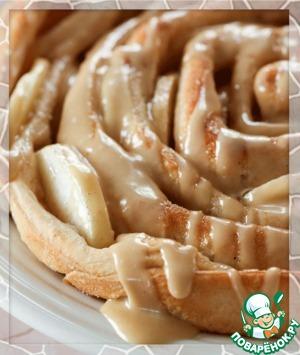 Рецепт Яблочный Пирог Роза