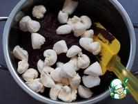 Конфеты шоколадно-фасолевые с орехами и цукатами ингредиенты