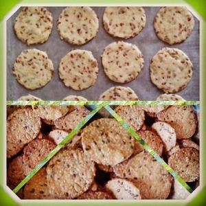 Рецепт Фитнес печенье-крекер