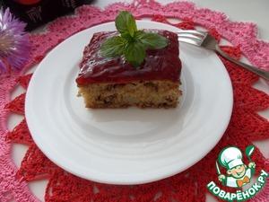 Рецепт Пирог с грушей и чечевицей