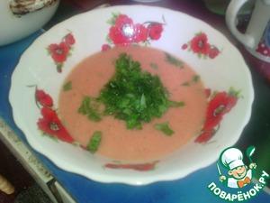 """Рецепт Крем-суп """"Мистер и Миссис Томат"""""""