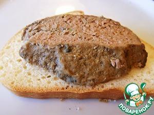 Рецепт Паштет из печени и свинины запечённый в горшочке