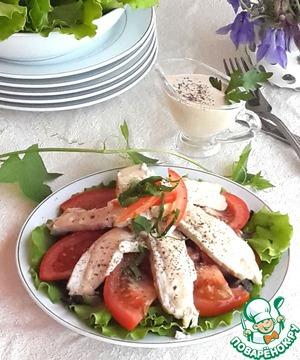 салат с курицей терияки рецепт