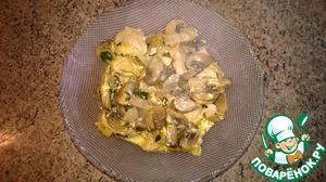 Рецепт Куриное филе с шампиньонами и зеленью в мультиварке