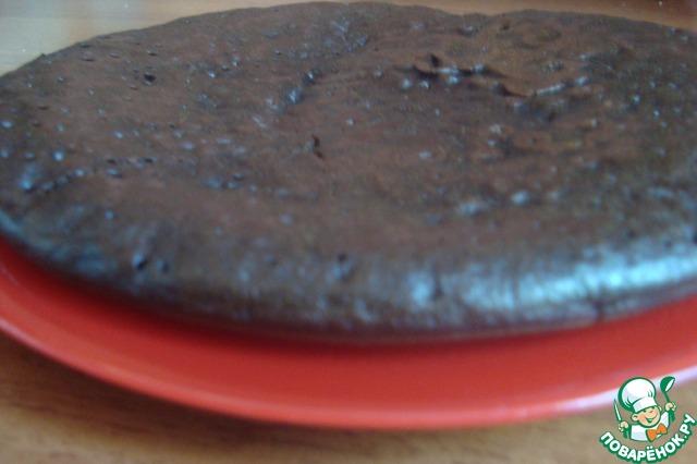 Шоколад на кипятке торт на сковороде