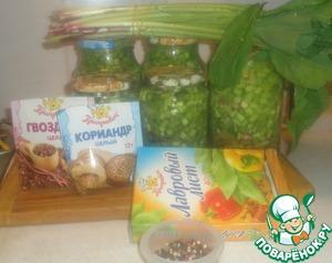 Рецепт Черемша (колба) соленая