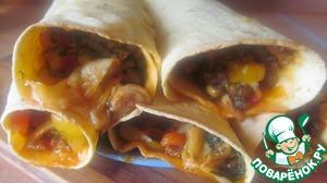 Рецепт Бурито овощное
