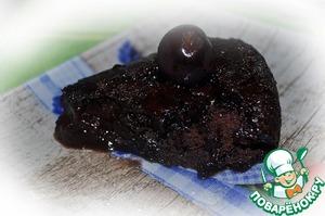 Рецепт Быстрый шоколадный пирог без яиц