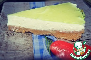 Готовим Желейный торт без выпечки домашний рецепт с фото пошагово