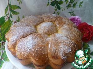Рецепт Сахарно-шоколадные булочки на закваске