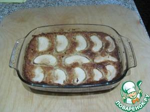 Рецепт Запеканка из овсяных хлопьев и яблок