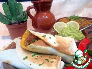 """Рецепт Буррито """"Вкус Мексики""""-Рохо"""