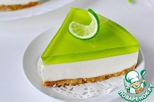 Рецепт Желейный торт без выпечки