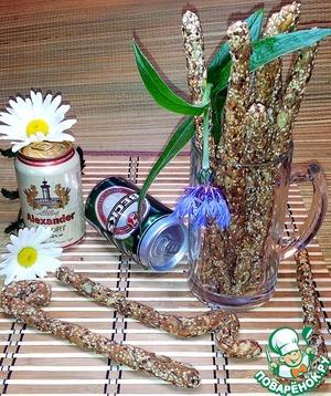 Рецепт Остро-солёные палочки к пиву