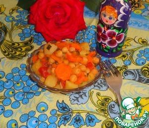 Рецепт Овощное рагу с тыквой и нутом