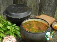 Суп с фасолью и грибами ингредиенты