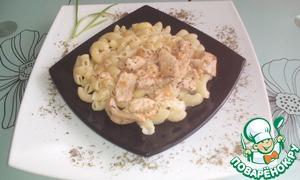 Рецепт Куриные грудки в сливочно-чесночном соусе
