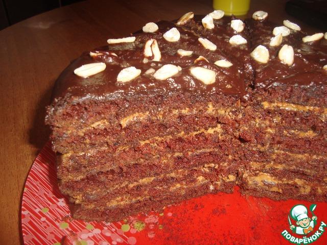 рецепты и фото тортов шоколадных