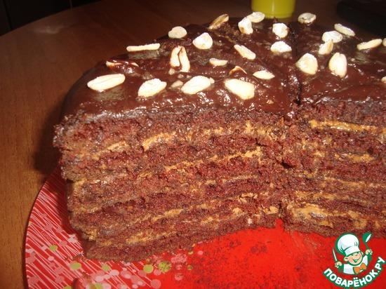 Простой рецепт шоколадного торта фото