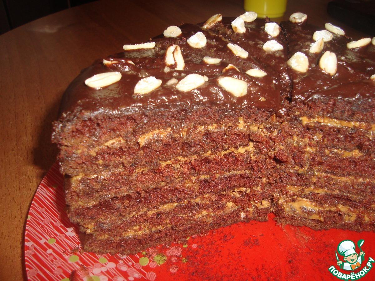 Торт обычный шоколадный рецепт