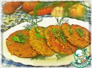 Рецепт Овощные котлеты с диким рисом