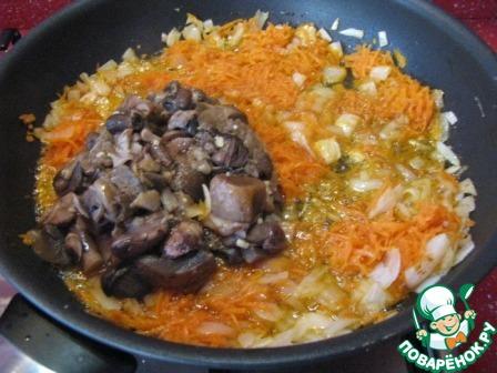 Суп с замороженными грибами и вермишелью рецепт