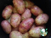 Картошка с курицей в скороварке ингредиенты