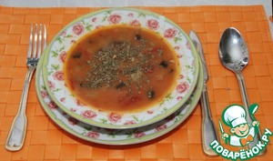 Рецепт Баклажановый суп\